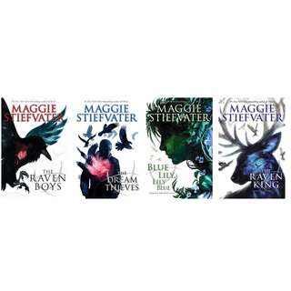The Raven Cycle by Maggie Stiefvater EBOOKS