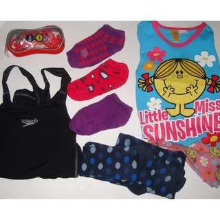 Speedo, Arena, Little Miss Girl's Mixed Items Sizes 5 & 6
