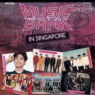 Selling Music Bank Singapore Cat 1 Ticket