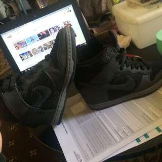 Nike Black Heels