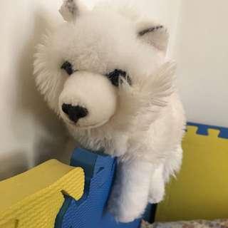 可愛雪撬狗