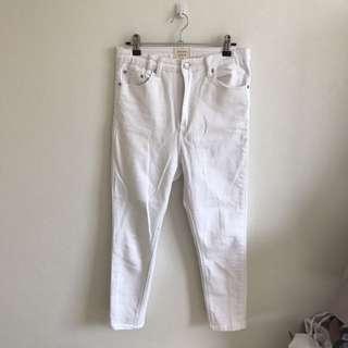 Insight White Denim Jeans