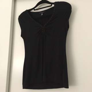 Banana Republic Studded Top M