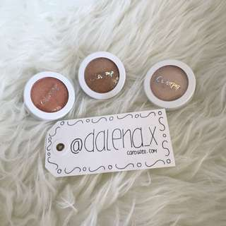 AUTHENTIC ColourPop Super Shock Highlighter - Highly Waisted, Candyman & Flexitarian