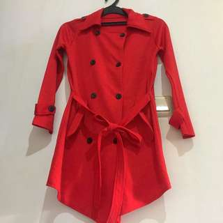 RED COAT TOP