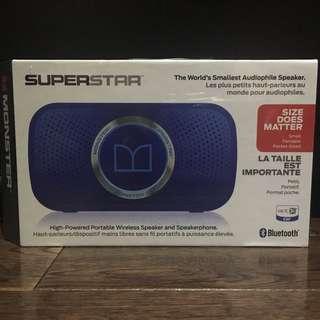 BNIB Monster Superstar Wireless Bluetooth Speaker