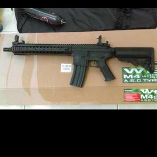 🚚 M4  URX12電動槍 生存遊戲