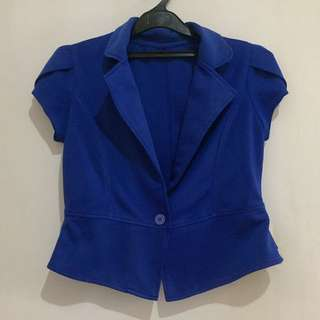 Blue Short Blazer