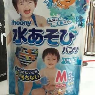 🚚 全新兒童防水戲水尿布