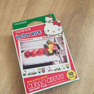 FUJIFILM INSTAX WIDE LIMITED EDITION HELLO KITTY
