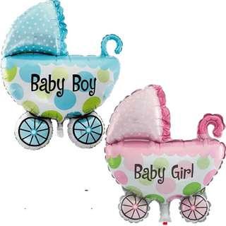 "14"" Baby Stroller Foil Balloon"