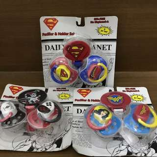 Baby Pacifier DC Comics Edition