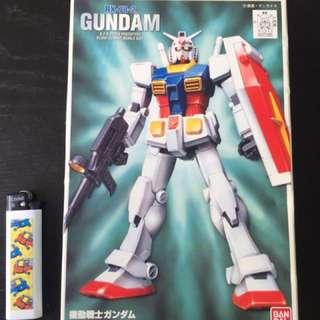 Rx-78-2 Gundam First Grade Kit 1/144