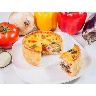 4吋普羅旺斯燉菜鹹派