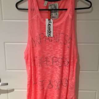 Super dry Slouch Tank
