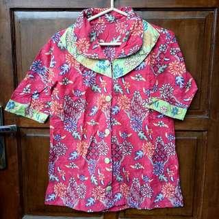 Batik Hijau Merah Modern #clearancesale