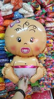"""20"""" Baby Girl Plastic Balloon"""