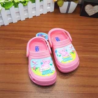 💯台灣製造🎀佩佩豬Peppa Pig 花園鞋 洞洞鞋 止滑 超輕 可碰水 耐磨 好穿脫(現貨供應)