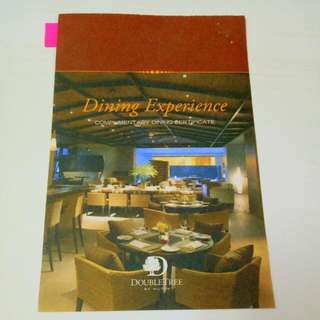 Dinner Voucher For 2 At Doubletree By Hilton Kuala Lumpur
