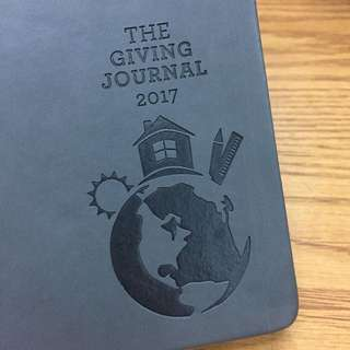The Giving Journal 2017 Planner - Coffee Bean (CBTL) GRAY