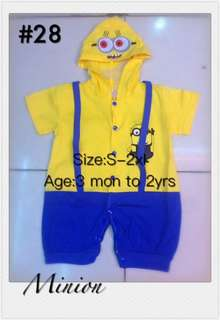Toddler Minions Costume