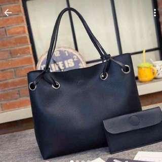Korean 2in1 Tote Bag