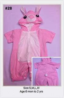 Toddler Stitch Pink Costume