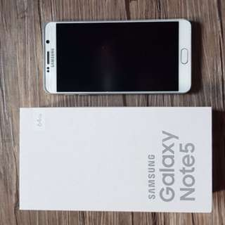 Samsung Note 5 White 64gb
