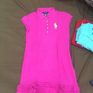 *REDUCED PRICE*Authentic Ralph Lauren Pink Polo Dress