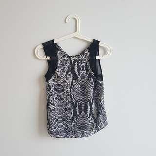 Black Lace Topwith Jewels