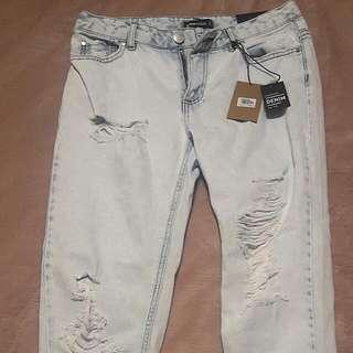 Brand Spanking New Boyfriend Jeans Size 8-10