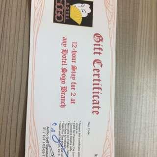 SOGO Gift Certificate