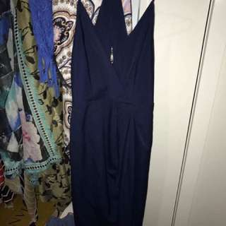 Brand New With Tags Tulip Navy Dress