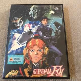 Dvd Box 18 - Gundam F91