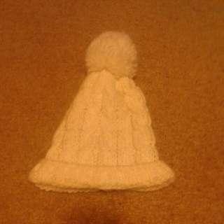 White Knit Bennie
