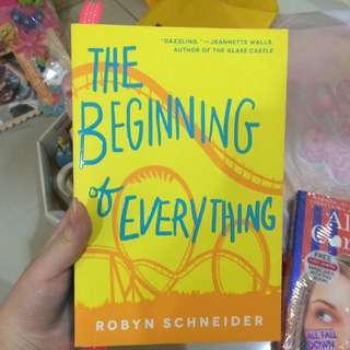 The Beginning Of Everything Novel Book