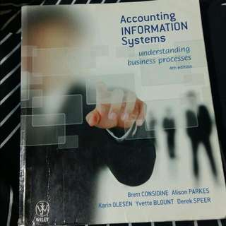 Accounting Information System 4th Edition