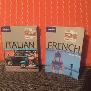 Italian & French Language Books