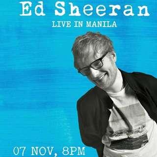 Ed Sheeran Divide Tour Manila **GEN AD**