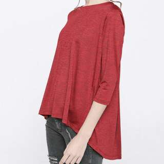 [NEW] COTTONINK Maroon Chrissy