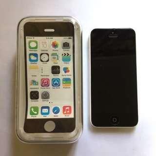 二手白色iPhone 5c 16g 女用機