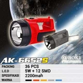 Aoki 6652s Senter
