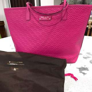 Brand New Fuchsia Kate Spade Shoulder Bag