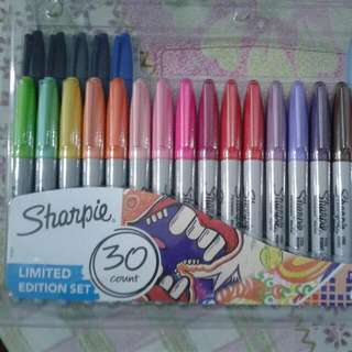 SHARPIE ELECTROPOP LIMITED EDITION SET, 30 COUNT