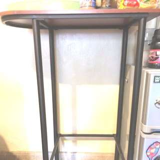Mini Bar Table with 2 High Chairs