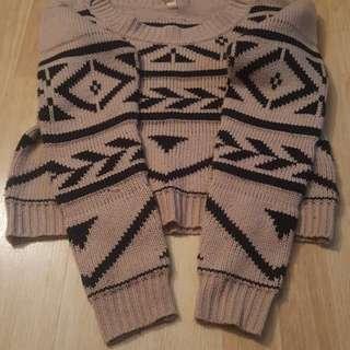 Tribal Knit Sweater
