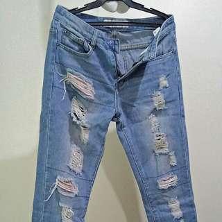 Tattered BKK Jeans