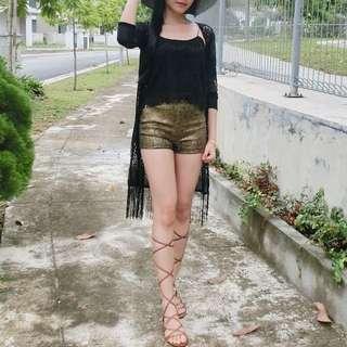 BN High Waisted Textured Shorts