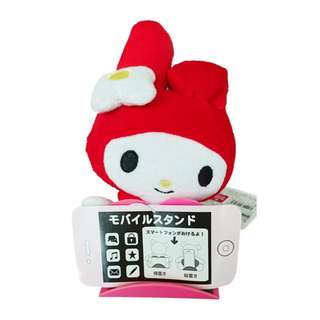 Sanrio My Melody Soft Toy Plush Phone Stand Smartphone Holder from Japan