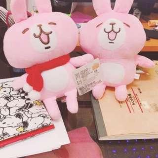 卡納赫拉 兔兔 玩偶 娃娃💕 一隻30$兩隻50$